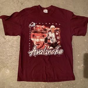 Vintage Colorado Avalanche Peter Forsberg Shirt